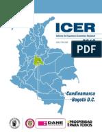 Informe de Coyuntura Económica Regional 2013 Cundinamarca, Bogotá