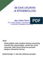 Macam Dan Ukuran Dalam Epidemiologi