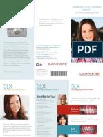Carriere SLX Bracket Patient Education Brochure International English