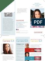 Carriere SLX Bracket Patient Education Brochure French