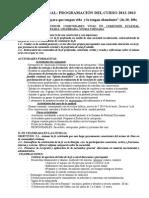 Programción Pastoral 003