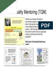 Total Quality Mentoring (TQM) Visualizaton