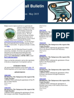 May 2015 Legislation Edition