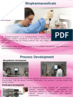 Biopharmaceutical and Purification development