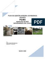 Plan de Gestion Integral de Residuos Solidos