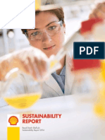 Entire Shell sustainability research