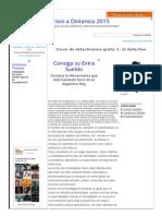 Curso de Detectivismo Gratis 1- El Detective Cursos Gratis on-line- Www.educursos