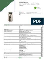 Modicon Quantum Automation Platform 140CPU65150