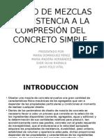 Presentacion Diseño de Mezcla