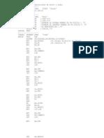 MULTIPLICACION CON AJUSTE ASCII