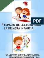 Espacio de Lectura Para La Primera Infancia