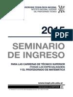 Seminario 2015 Todas Especialidades