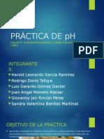 Práctica de PH