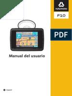 Navman f10 Manual Es