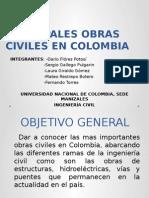 Principales Obras Civiles en Colombia 2