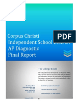 CCISD AP Diagnostic Report