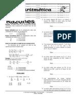 Aritmetica Tema 6- Razones