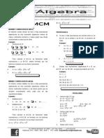 Algebra Mcd y Mcm