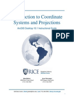 Introduction to Coordinate Systems and Projections - Instructional Guide