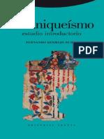 BERMEJO RUBIO, Fernando. El Maniqueísmo