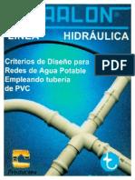 Criterios de Diseño Para Redes de Agua Potable Empleando Tubería de PVC