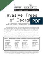 Invasive Trees of Georgia Pub10-14