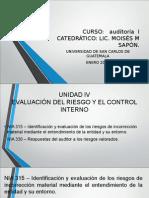 Presentación Auditoria Unidad IV