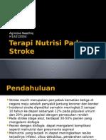 Terapi Nutrisi Pada Stroke