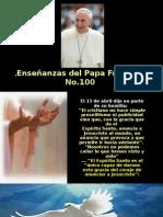 Enseñanzas del Papa Francisco - Nº 100