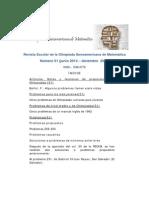 Revista Iberoamericana de Matemática Numero 1