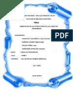 Cimentaciones de Estructuras de Las Lineas de Transmision