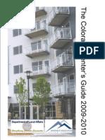 Renter Booklet 2009