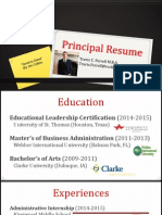 administrative resume ust website