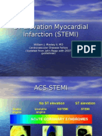 ST Elevation Myocardial Infarction (STEMI) Talk.ppt