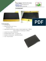 Esd Safe Anti-fatigue Mat