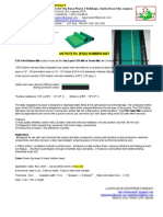 ESD Safe Rubber Mat & ESD Groundings