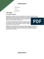 Formato Informe Diagnostico 2015