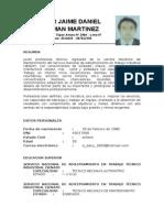 Cesar Jaime Daniel Huaman Martinez