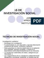 TECNICAS DE INVESTIGACIÓN SOCIAL.ppt