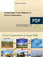 Using Bagasse in Power Co-Generation