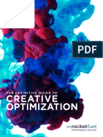 RocketFuel Guide to Creative Optimization