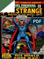 Marvel Premiere 3 Dr Strange