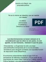 Derecho a la Salud Una Propuesta Política.ppt