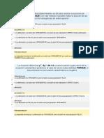 Respuestas Ecuaciones Diferenciales - Buitrago