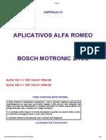 Alfa Romeo Injeção Eletronica