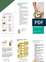 probiotic brochure