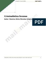 criminalistica forense