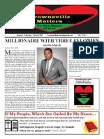 Brownsville Matters Newspaper Vol 2 Issue 1