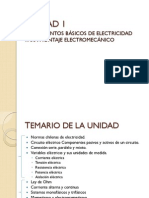 FUNDAMENTOS BÁSICOS DE ELECTRICIDAD PARA MONTAJE ELECTROMECÁNICO.a