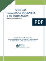 DAVINI Cristina. Acerca de Las Practicas Docentes y Su Formacion 1